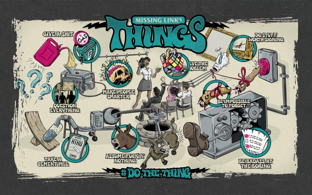 Missing Link's 9 Things